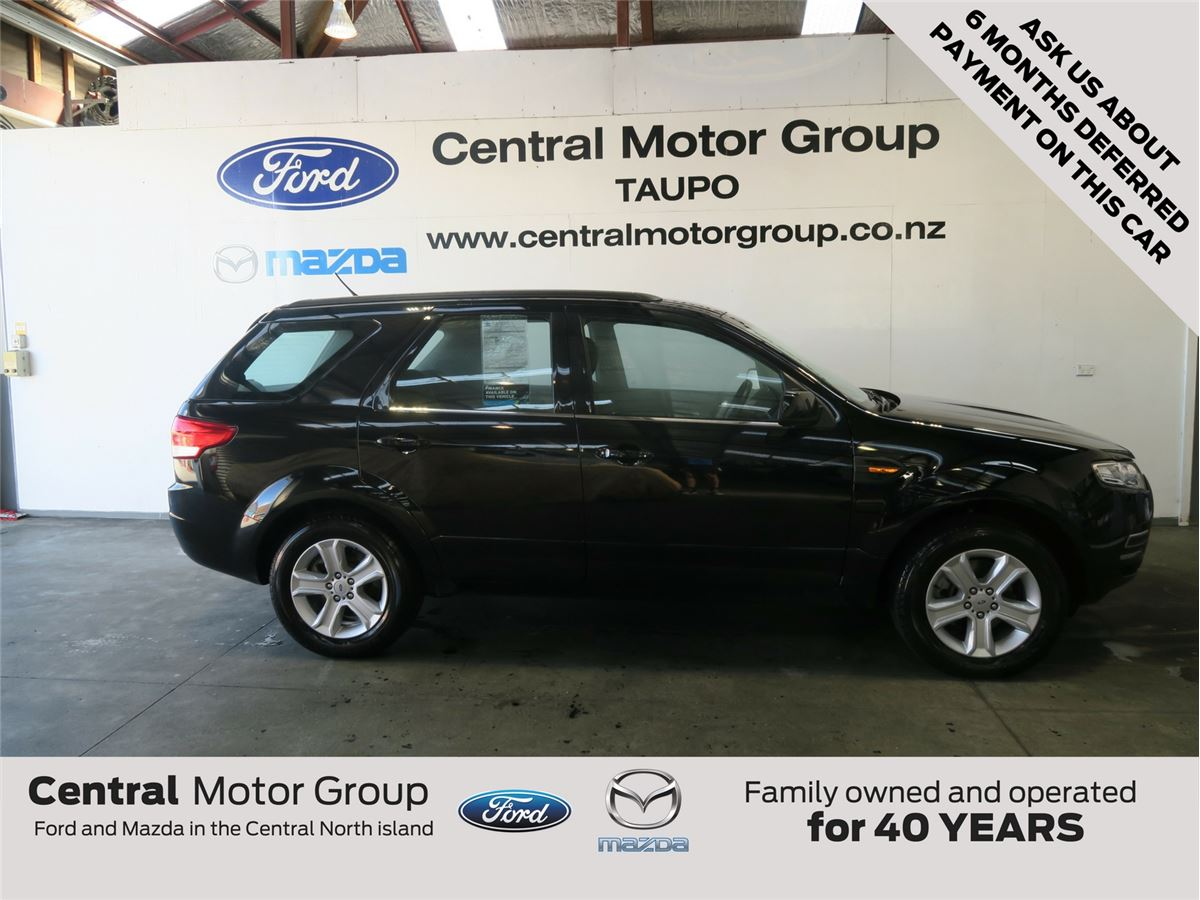 Ford Territory Tx Awd Diesel 2014 Central Motor Group
