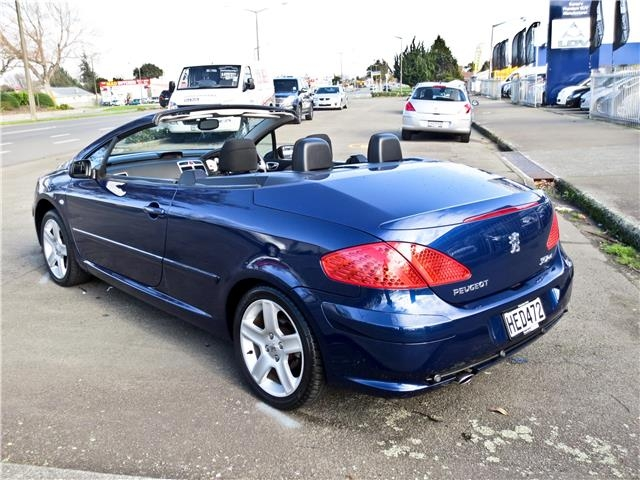 peugeot 307cc 2 0 convertible 2005 used peugeot new zealand. Black Bedroom Furniture Sets. Home Design Ideas