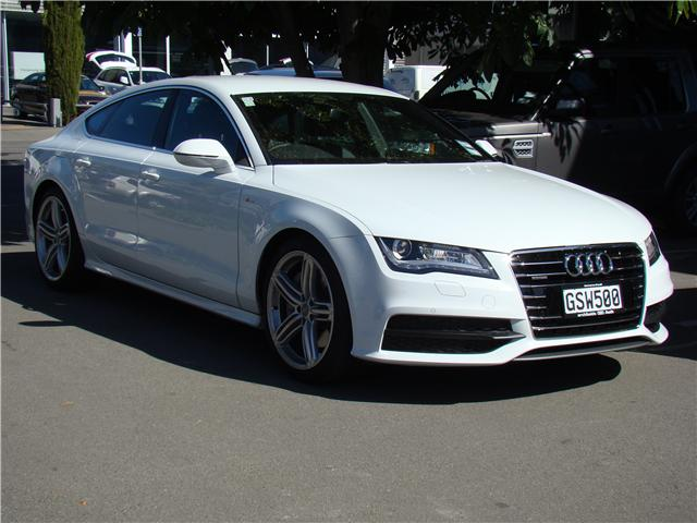 audi a7 2013 audi silver circle used car. Black Bedroom Furniture Sets. Home Design Ideas