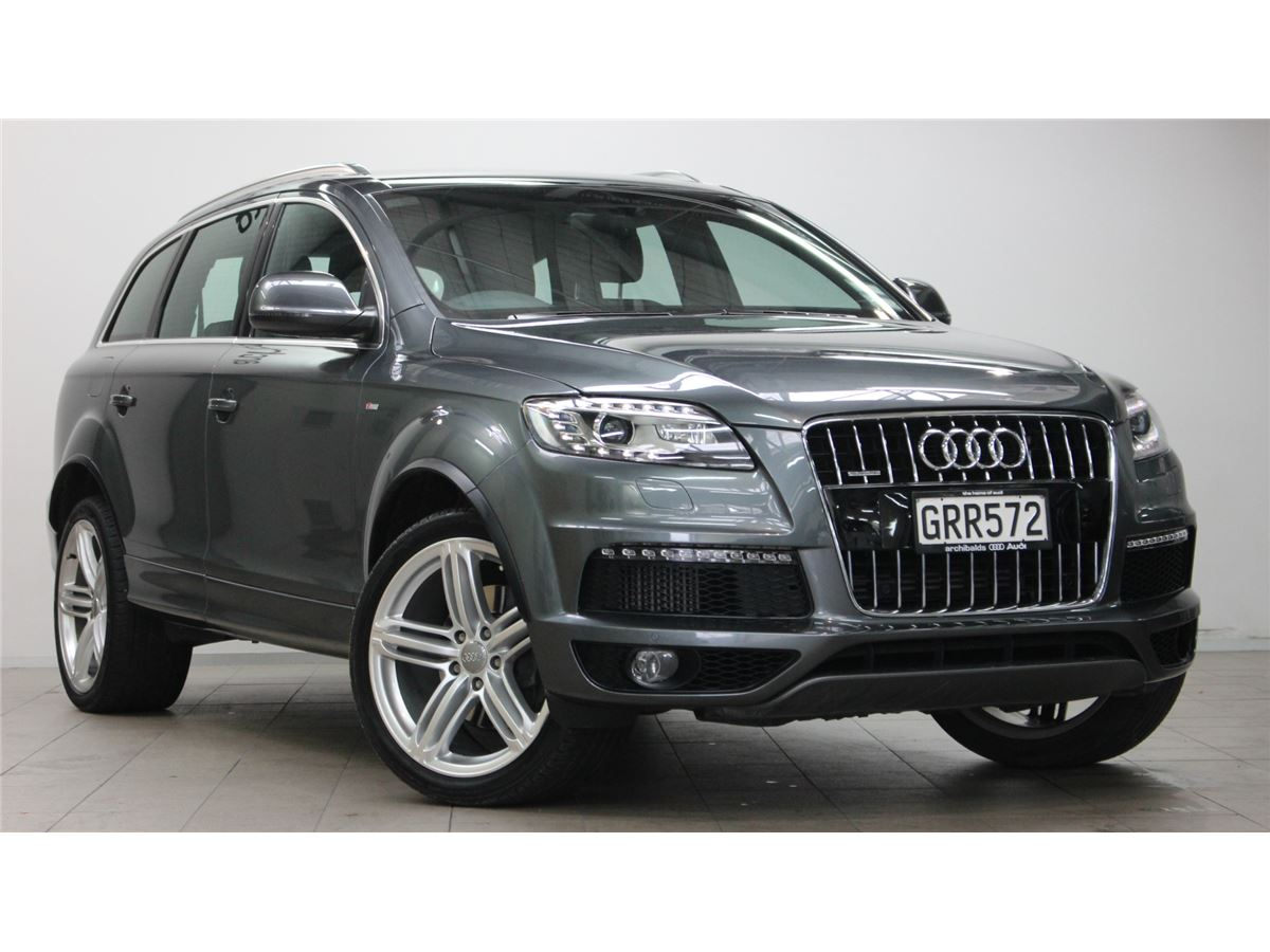 audi q7 2013 audi silver circle used car. Black Bedroom Furniture Sets. Home Design Ideas