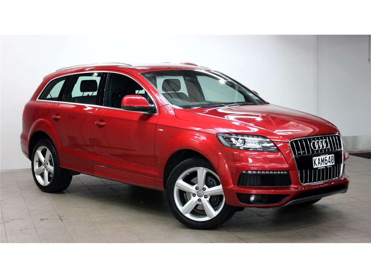 audi q7 2015 audi silver circle used car. Black Bedroom Furniture Sets. Home Design Ideas