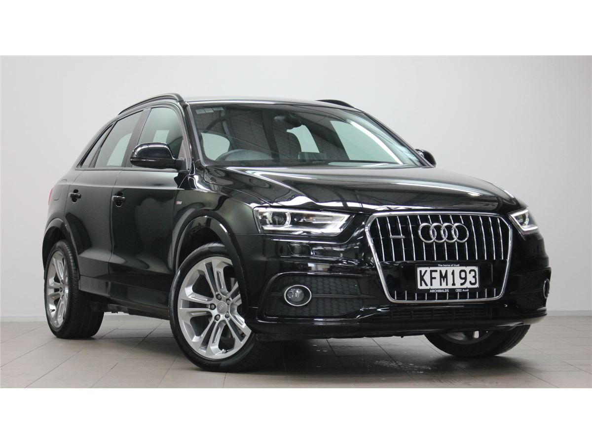 audi q3 2014 audi silver circle used car. Black Bedroom Furniture Sets. Home Design Ideas