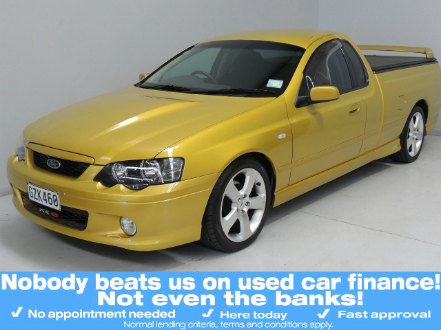 Ford Falcon Ute 2003 Used Fords For Sale In New Zealand Second Hand Ford Cars From Authorised