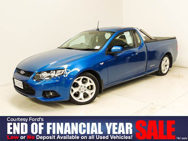 Ford Falcon Ute 2012 Used Fords For Sale In New Zealand Second Hand Ford Cars From Authorised