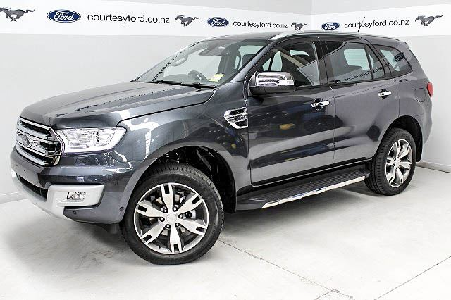 Ford Everest 3 2l Titanium 7 Seater 4x4 2016 Courtesy Ford New And Used Ford Manawatu