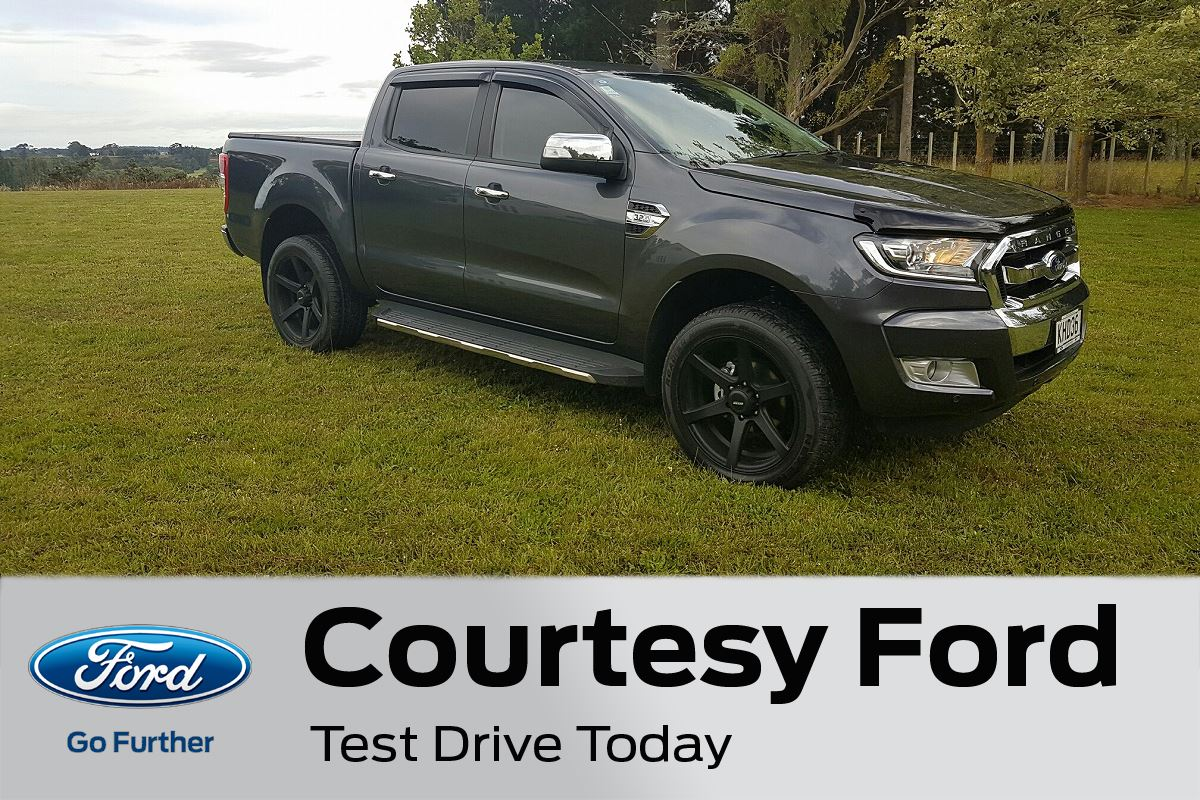 Courtesy Ford Finance Application & Ford Ranger XLT 4X2/2WD AUTO DOUBLE CAB 2017 - Courtesy Ford - New ... markmcfarlin.com