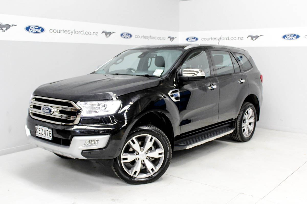 ford everest 3 2l titanium 7 seater 4x4 2017 courtesy ford new and used ford manawatu. Black Bedroom Furniture Sets. Home Design Ideas