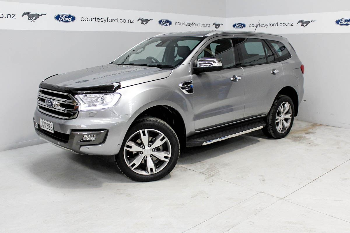 Ford Everest Titanium Diesel 7 Seater 2016 Courtesy Ford New And Used Ford Manawatu