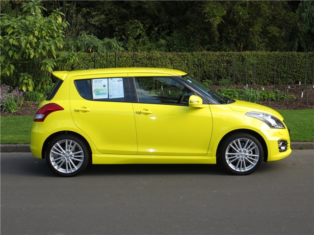 Suzuki Swift SPORT MAN - $120 P/W 3.9% $0 DEPOSIT 2017 - Eurocar Suzuki - New and Used Suzuki - Palmerston North
