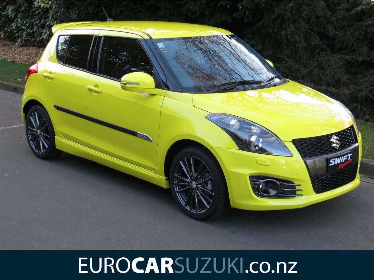suzuki swift sport auto pre reg nz new 2017 eurocar. Black Bedroom Furniture Sets. Home Design Ideas