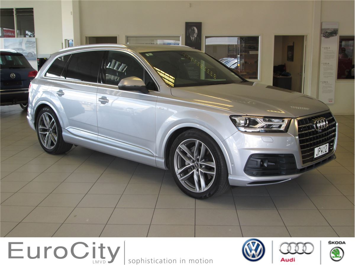 audi q7 2016 audi silver circle used car. Black Bedroom Furniture Sets. Home Design Ideas