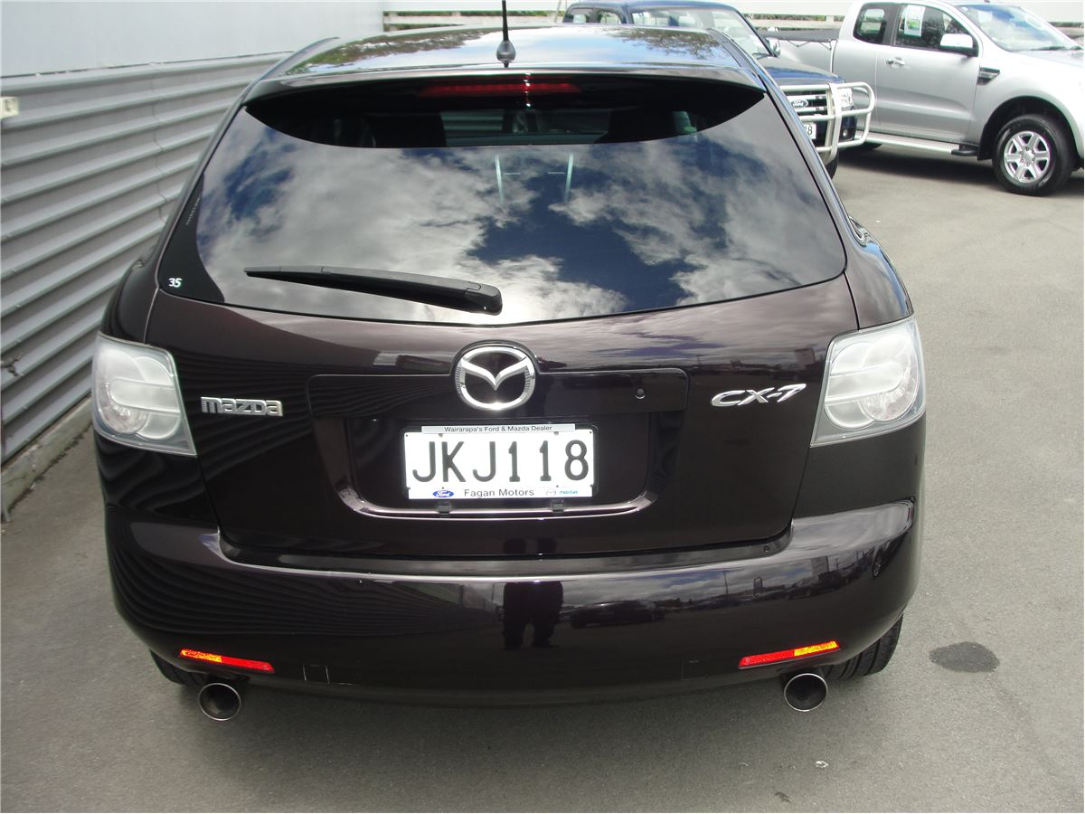mazda cx 7 2 3 petrol turbo 2wd suv 2006 fagan mazda. Black Bedroom Furniture Sets. Home Design Ideas