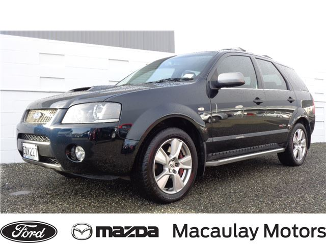 Ford Territory 2008 Used Fords For Sale In New Zealand