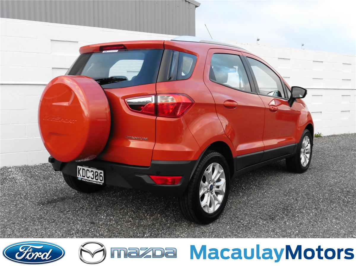 ford ecosport titanium 2016 macaulay ford. Black Bedroom Furniture Sets. Home Design Ideas