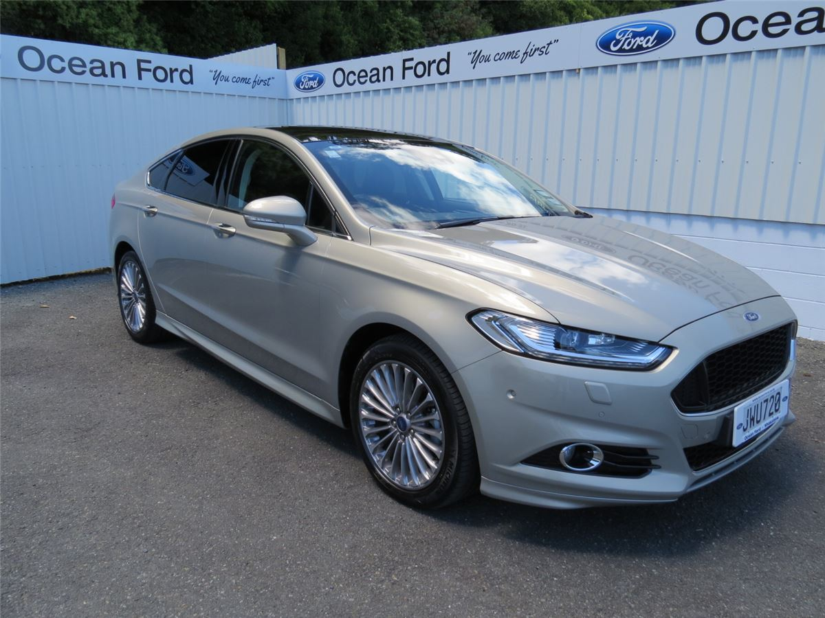 ford mondeo titanium diesel hatchback 2016 ocean ford new and used ford whakatane. Black Bedroom Furniture Sets. Home Design Ideas
