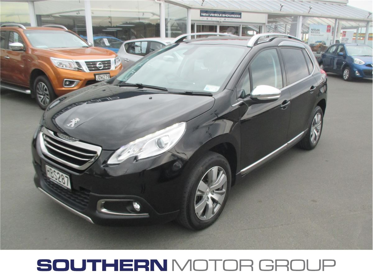peugeot 2008 allure 1 6 auto 2013 used peugeot new zealand. Black Bedroom Furniture Sets. Home Design Ideas