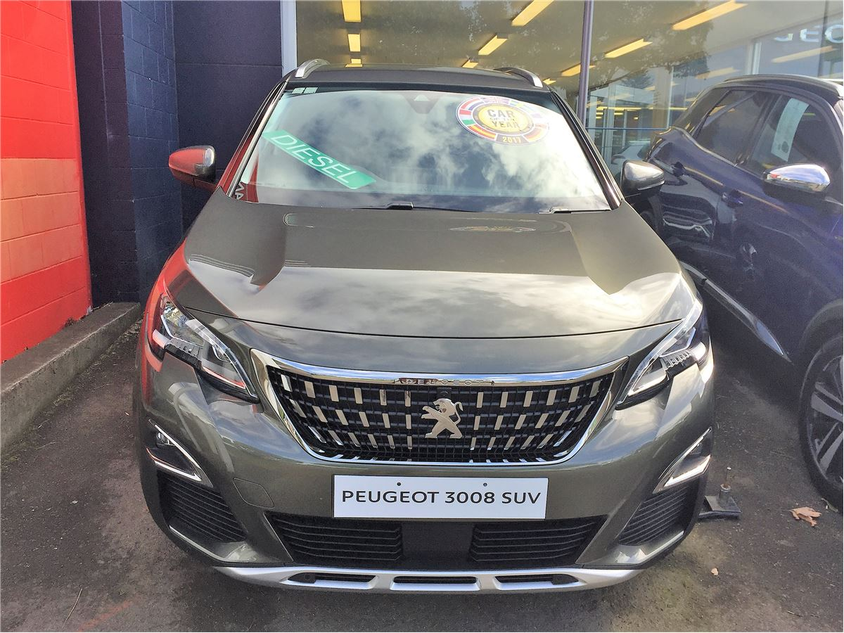 Peugeot 3008 Suv Allure Diesel 2017 Used Peugeot New Zealand
