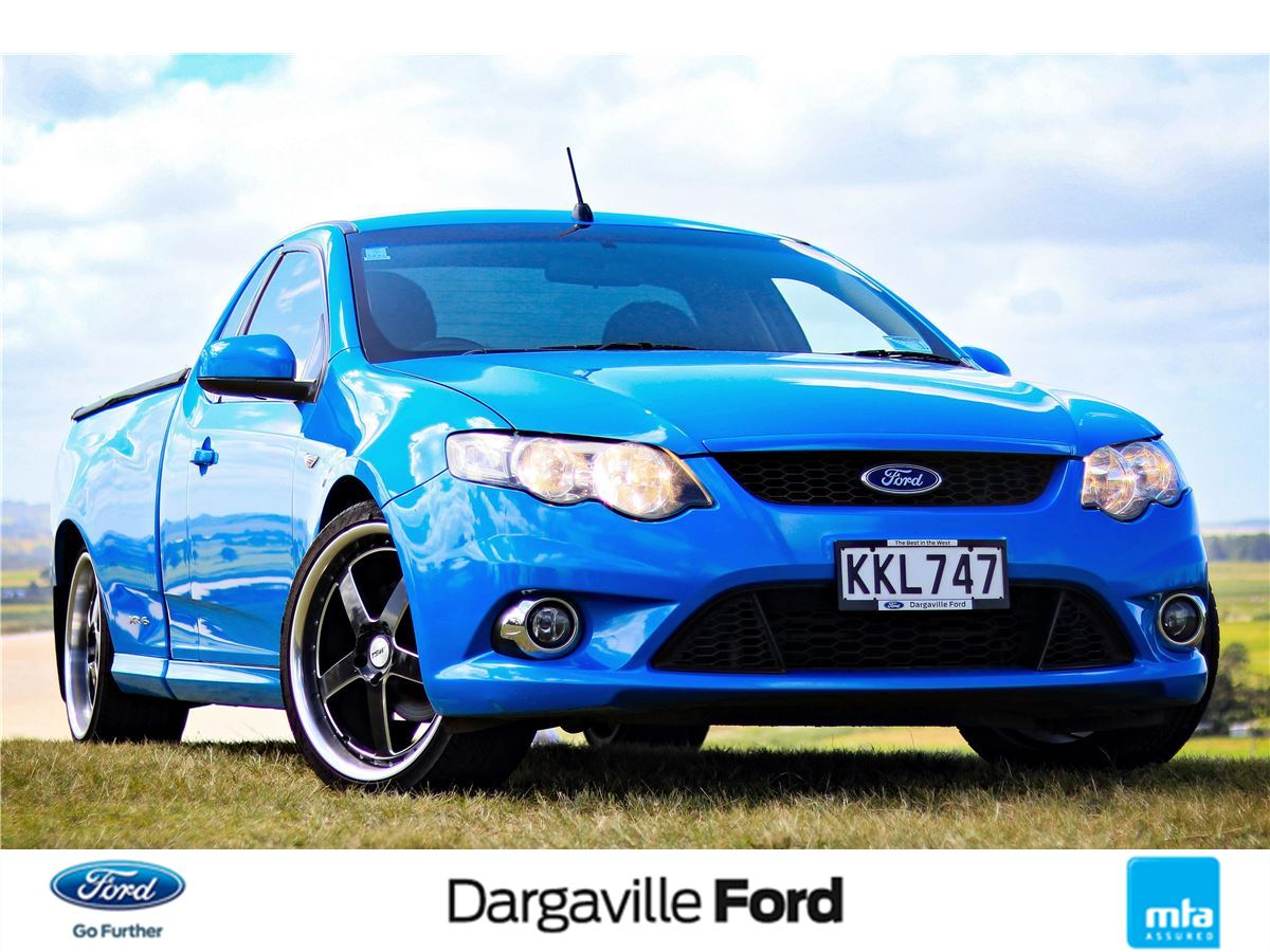 Ford Falcon Ute 2009 Used Fords For Sale In New Zealand Second