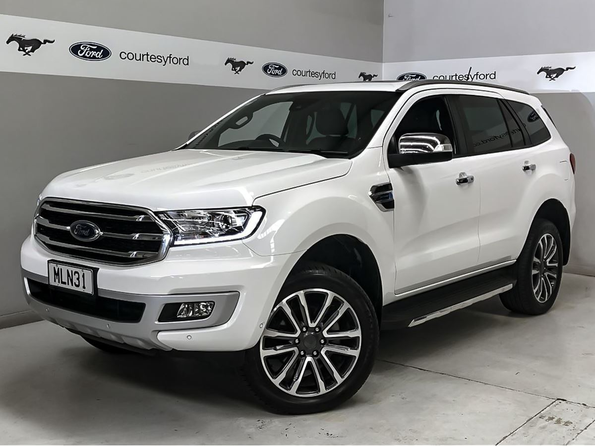 Ford Everest 2019 Used Fords For Sale In New Zealand Second Hand Ford Cars From Authorised Ford Dealers In Nz